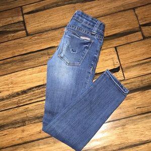 Girls Hudson Skinny Distressed Jeans